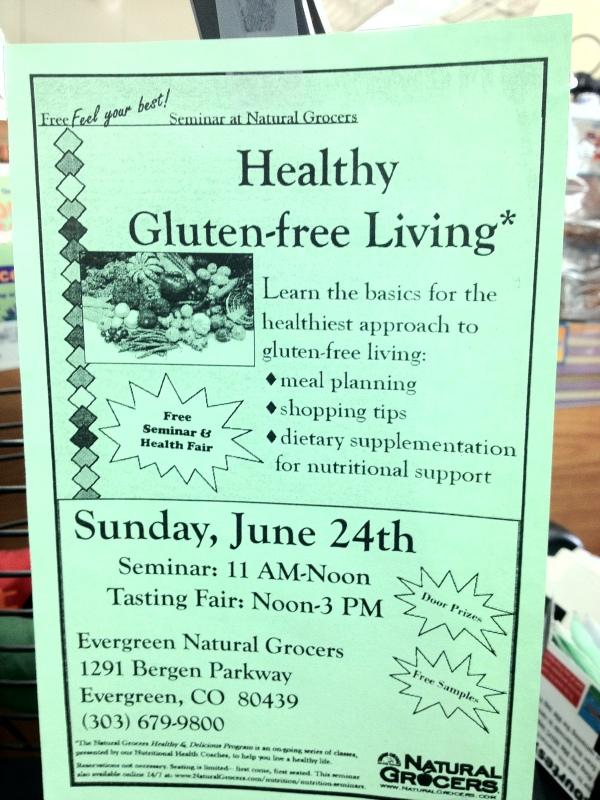 gluten free, gluten free seminar, gluten free health fair, gluten free diet
